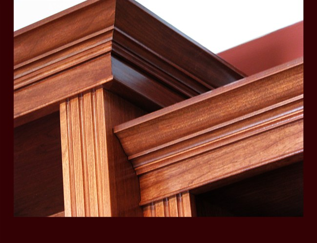 Crown moulding wainscoting finish trim millwork bethlehem pa for Architectural trim